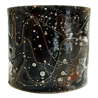 1950s Zahara Schatz Laminated Acrylic Cuff Bracelet