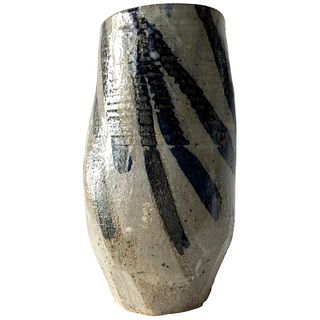John Mason California Studio Stoneware Pottery Vase