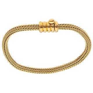 BRACELET IN 18K YELLOW GOLD, TANE Weight: 21.5 g
