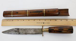 Faroe Island Whaling Knife, late 19th Century