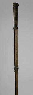 Rare Baleen Walking Stick, circa 1840