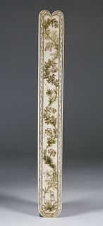 Engraved Whalebone Busk, mid 19thCentury