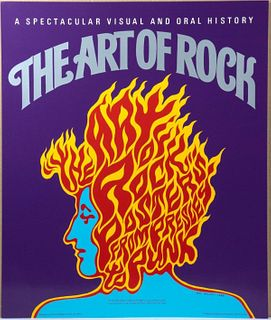 (7) Art of Rock Promotional Posters