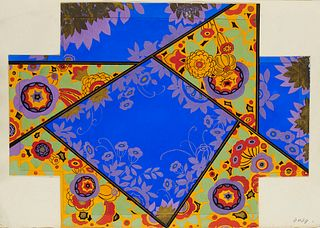 Sammlung von 20 prachtvollen Original-Entwürfen für Art Déco Schachteln des Atelier Pichon. Je Gouache auf festem Papier, überwiegend in Gold oder S