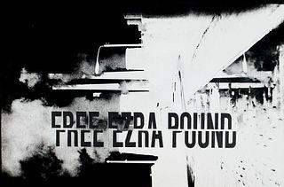 Gerz, Jochen 5 photographic pieces. Free Ezra Pound. Mit 1 Originalphotographie. Krakau, Galerie Potocka, 1990.