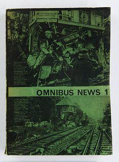 Omnibus News 1 (= Alles Erschienene). Gesammelt und herausgegeben von T. Niggl, C. d'Orville und H. Prem. (= alles). 166 Bll. Texte, Zeichnungen, Ph