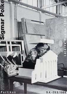 Polke u.a, Sigmar Sammlung von 18 Ausstellungsplakaten und 1 Farb-Offset, davon 2 signiert. 1982-2013. Verschiedene Techniken: Offset und Siebdruck. B