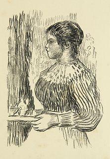 Vollard, Ambroise La vie & l'oeuvre de Pierre-Auguste Renoir. 1 ORadierung, 1 farb. Lithogr., 51 Heliogravüre auf Kupfer u. 175 Textabb. in Schwarz. P