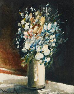 Genevoix, Maurice Images pour un jardin sans murs. Mit 9 separaten farbigen lithograph. Tafeln und 8 Textillustrationen, sowie 1 Extrasuite und einer