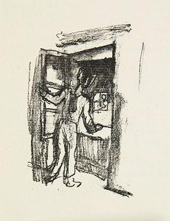 Hesse, Hermann Knulp. Drei Geschichten aus dem Leben Knulps. Mit 16 (13 ganzs.) Steinzeichnungen von Karl Walser u. lose beiliegender Suite der Lithog