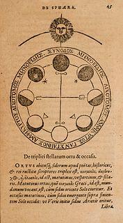 Valerius, Cornelius De sphaera et primis astronomiae rudimentis libellus utilissimus...Mit zahlreichen Textholzschnitten. Antwerpen, Plantini, 1585. 7
