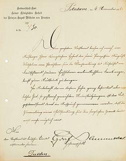 """""""Sammlung von ca. 40 Briefen an Ottilie Hoffmann und Gustel von Blücher den """"""""Deutschen Bund für abstinente Frauen"""""""" betreffend. 1912-1913. Versch."""