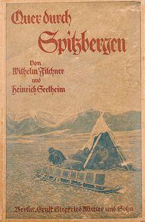 """Filchner, Wilhelm u. Heinrich Seelheim """"Eigenhändiger Brief mit Unterschrift an den Reichsgerichtsrat Rudolf Bewer (1855-1930). An Bord der """"""""Deutschl"""