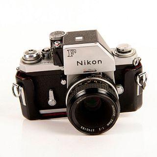 NIKON F CAMERA, PHOTOMIC FTn 50mm