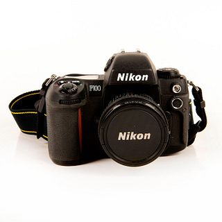 Nikon F100 Film Camera with 20mm Lens