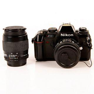 NIKON N2000 Camera with 2 Lenses