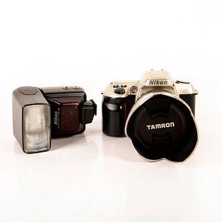 Nikon N60 Film Camera Silver