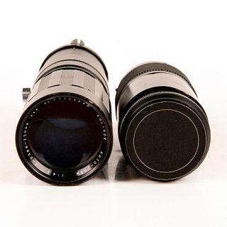 Group of 2 Soligor Zoom Lenses