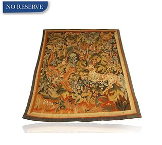 A 17TH CENTURY FLEMISH WALL TAPESTRY