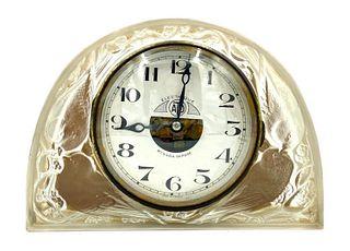 """Rene Lalique """"Moineaux"""" Clock"""