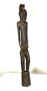 African Rhythm Pounder Figure, Senufo