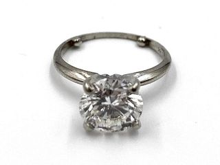 2.5 Carat Natural Diamond Solitaire Ring