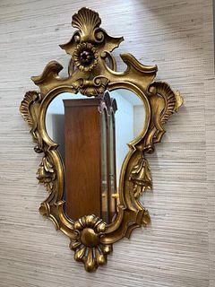 Venetian Style Giltwood Mirror