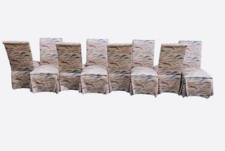 Vintage Westchester Furniture Dining Chairs Set of 8