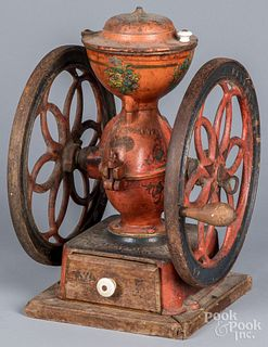 Enterprise, Philadelphia cast iron coffee mill