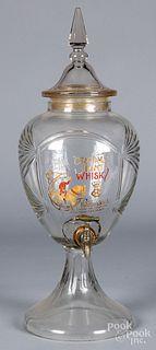 Advertising dispenser for Croome Hunt Whiskey