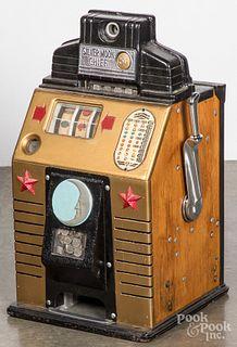 Jennings Silver Moon Chief 5-cent slot machine