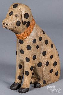 Daniel & Barbara Strawser carved dalmatian