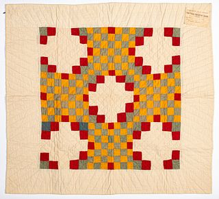 Pennsylvania patchwork cradle quilt