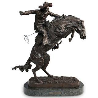 "Frederic Remington ""Bronco Buster"" Bronze"