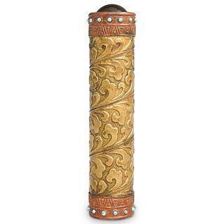 Chinese Brass & Turquoise Kaleidoscope