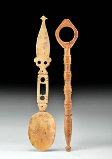 Fine Coptic Bone Spoon & Tool
