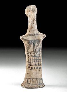 Boeotian Pottery Female Idol Figure w/ TL