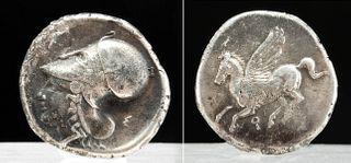 Greek Corinthian Silver AR Stater w/ Pegasus