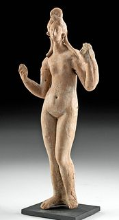 Canosan Terracotta Figure Aphrodite Rising From Sea