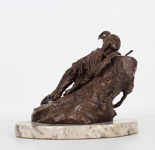 Carl Kauba (1865 - 1922) Indian Figure