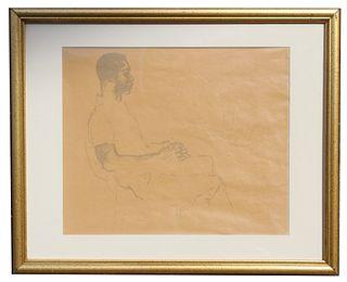 "LeRoy Neiman (1921 - 2012) ""Pele"" Original"