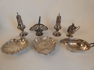 ASSORTED LOT STERLING SILVER ITEMS