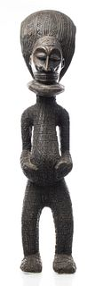 African Chokwe Carved Figure, Dem. Rep. of Congo