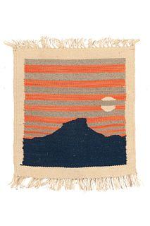 Santana Salazar, New Mexico Pictorial Landscape Weaving