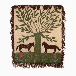 Marie Graves, 'Tree of Life' Colcha Embroidery