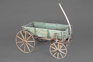 New Mexico, Wheeled Hand Cart, Early 20th Century