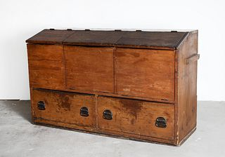 American, Grain Chest, Early 19th Century