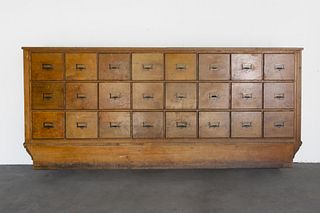 American, Multi-Drawer Mercantile Cabinet, Early 20th Century