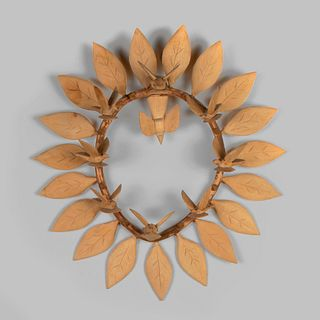 Ricardo Lopez, Carved Wooden Wreath with Birds