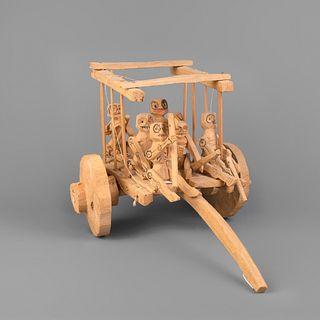 New Mexico, Carreta De Muerte (Death Cart) with Six Skeletons